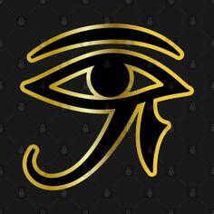 Egyptian Eye, Eye Of Ra, Gaming Tattoo, Stencil Painting, Stencils, Africa, Hoodies, Games, Tattoos