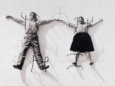 Charles and Ray Eames. A great team of industrial designers, responsible for some of my favorite designs including my favorite chair, the Charles and Ray Eames Lounge chair and ottoman Charles Eames, Ray Charles, Vitra Lounge Chair, Panton Chair, Eames Chairs, Bar Chairs, Dining Chairs, Herman Miller, Alexander Girard