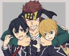 580 Me gusta, 0 comentarios - > > Anime Couples Manga, Cute Anime Couples, Manga Anime, Arte Online, Online Art, Anime Art Girl, Manga Girl, Anime Girls, Eugeo Sword Art Online