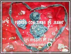 ¡Reutiliza unos jeans y haz flores con ellos!