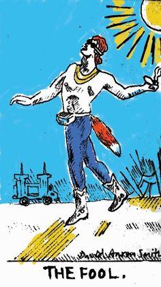 David Aaron Smith is raising funds for The New American Tarot Deck on Kickstarter! An update of artist Pamela Colman Smith's Rider-Waite Tarot deck by her American cousin. Major Arcana Cards, Tarot Major Arcana, Tarot The Fool, Rider Waite Tarot, Tarot Decks, Archetypes, Tarot Cards, I Card, Mythology