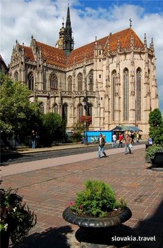 Elizabeth Cathedral in Kosice, Slovakia Heart Of Europe, Big Country, Beautiful Places In The World, Central Europe, Place Of Worship, Bratislava, Kirchen, Eastern Europe, Countries Of The World