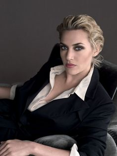 Kate Winslet photographed by Tom Munro