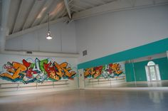 Studio C Rhythm Dance Center Hip Hop Dance Studio, Home Dance Studio, Dance Studio Design, Studio C, Dance Class, Studio Ideas, Step Up Dance, 1million Dance Studio, Dance Rooms