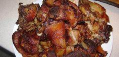 15 szaftos tepsis hús, amitől mind a 10 ujjad megnyalod - Receptneked.hu - Kipróbált receptek képekkel Slow Roasted Pork Shoulder, Pork Shoulder Recipes, 20 Min, Pork Roast, Chicken Wings, Cake Recipes, Steak, Bacon, Food And Drink