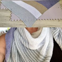 Mode d'emploi de l'écharpe triangulaire Catania Schachenmayr - Catania Schachenmayr Dreieckstuch Anleitung Mode d'emploi de l'écharpe triangulaire Catania Schachenmayr Poncho Knitting Patterns, Knitting Socks, Baby Knitting, Crochet Patterns, Embroidery On Clothes, Embroidered Clothes, Big Knit Blanket, Big Knits, Thing 1