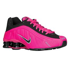 f5d7f8854 Nike Shox R4 - Girls  Grade School Selected Style  Black Pink Foil