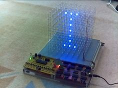 led cube Latch Board, Electronics Projects, Don't Give Up, One Design, Diffuser, Cube, Cool Things To Buy, Led, Circuit