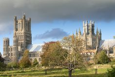 Ely Cathedral, Cambridgeshire, UK.           Once rode my bike to Ely with friends - 20 miles each way- when I was around in the early seventies.  (Father stationed in Mildenhall)