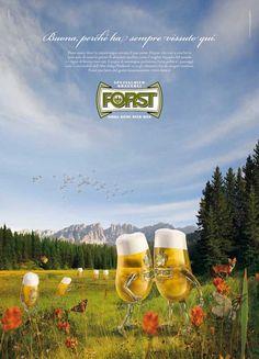 """Campagna marketing con i """"bicchierini"""" della Forst"""