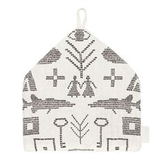 Maailman synty tea cosy Hemp Fabric, Winter White, White Christmas, Cosy, Tea, Pillows, Interior, Indoor, Interiors