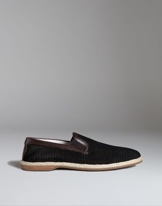 ESPADRILLES IN PERFORATED SUEDE - Slippers - Dolce&Gabbana - Summer 2016