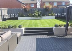 Back Garden Design, Modern Garden Design, Contemporary Garden, Landscape Design, Backyard Patio Designs, Diy Patio, Backyard Landscaping, Backyard Renovations, Diy Terrasse