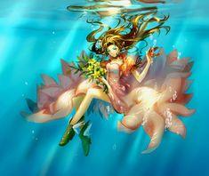 Final Fantasy VII - Aerith Gainsborough by Cat Princess