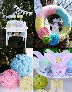 Kids' Pastel Easter Bunny Themed Brunch
