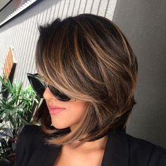cool 45 Easy Brown Hair Color Ideas For Beautiful Women https://viscawedding.com/2018/05/09/45-easy-brown-hair-color-ideas-beautiful-women/