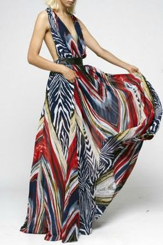 FLAMENCO MAXI DRESS-- if only I were tall