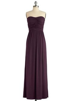 Always and For Evergreen Dress in Blackberry, #ModCloth