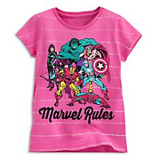 Marvel Comics Tee for Girls