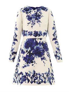 Ceramic brocade dress
