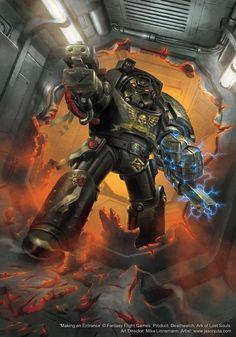Deathwatch Terminator - www.jasonjuta.com