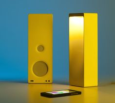Cromatica #BluetoothSpeaker #Lamp http://thegadgetflow.com/portfolio/cromatica-bluetooth-speaker-lamp/?utm_content=buffer862a4&utm_medium=pinterest&utm_source=pinterest.com&utm_campaign=buffer Experience a mixture of light and sound effects!