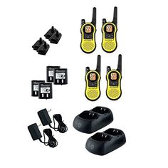 Motorola MH230R4PK Two Way Radio - 4 PACK -. For product info go to:  https://all4hiking.com/products/motorola-mh230r4pk-two-way-radio-4-pack/