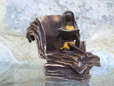 bronze sculpture small Fabian