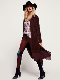 Free People Great Lengths Lacey Corduroy Jacket, $198.00
