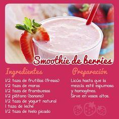 Smoothie de berries