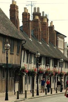 Shakespeare's home in Stratford upon Avon.