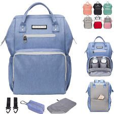 Water Resistant Baby Diaper Bag Bac...