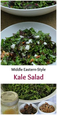 Super easy kale salad, with just a hint of sweetness and a lovely, lemony tang. With tips on how to prepare fresh kale.