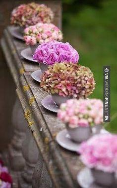 Romantic tablesetting