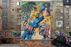 Heroji / Takovska #BeogradskiGrafiti #StreetArt #Graffiti #Beograd #Belgrade #Grafiti