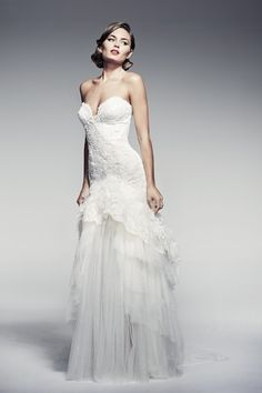Pallas Couture Wedding Dresses - Fleur Blanche Collection