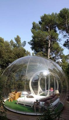 Attrap'Rêves #Bubble_Hotel in #France http://en.directrooms.com/hotels/country/2-8/