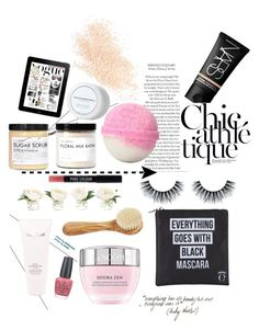 """""""spa day"""" by inxpixre ❤ liked on Polyvore featuring beauty, Eyeko, Fig+Yarrow, NARS Cosmetics, NDI, OPI, Mila Moursi, Lancôme, Natura Bissé and Eve Lom"""