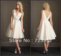 vestidos cortos informales tul vestido de novia corto