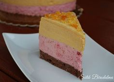 SÜTIK BIRODALMA: Málnás-karamellás mousse torta / Raspberry caramel mousse cake
