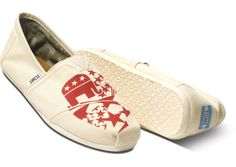 I own these thanks to my awesome girlfriend. Vote 2012 Republican Men's Classics | TOMS.com