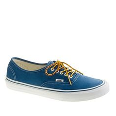 Vans for JCrew  Authentic Canvas