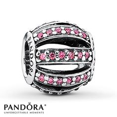 Pandora Charm Pink CZ Sterling Silver  Jared Jewelers $55.00