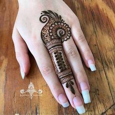 Henna Mehndi Design for beginners Very easy design Easy Mehndi Designs, Henna Hand Designs, Latest Mehndi Designs, Bridal Mehndi Designs, Mehandi Designs, Mehndi Designs Finger, Mehndi Designs For Girls, Mehndi Designs For Beginners, Mehndi Designs For Fingers