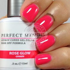 LeChat Perfect Match Rose Glow - Spring 2015 - swatch by Chickettes.com