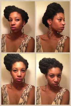 I absolutely love this updo, but I think my hair has to be a little bit longer for me to try this.