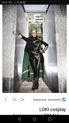Cosplay Outfits, Cosplay Ideas, Costume Ideas, Loki Halloween Costume, Female Loki, Lady Loki Cosplay, Tom Hiddleston Loki, Photo Series, Marvel Memes