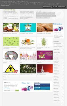 The website 'blog.naturetica.com' courtesy of @Pinstamatic (http://pinstamatic.com)