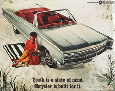 Chrysler Ad 1966 #ThrowbackThursday #VintageAdvertising #AutoAdvertising