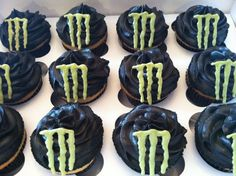monster energy cupcakes - Google Search
